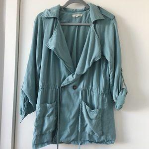 Stitch Fix 41 Hawthorn light blue utility jacket